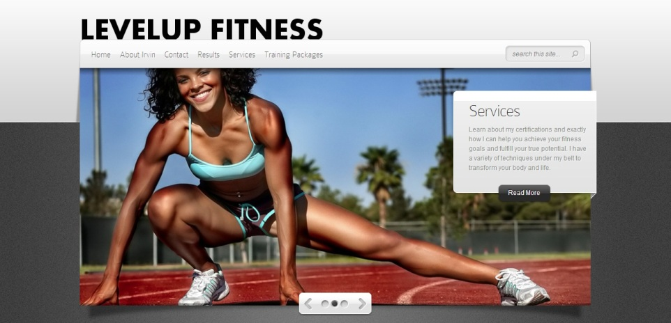 Client Showcase: LevelUp Fitness